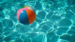 sommer - vann-ball